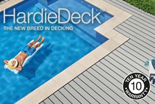 HardieDeck low maintenance deck Prospex 309x207